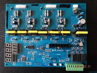 电磁加热主控板定制款